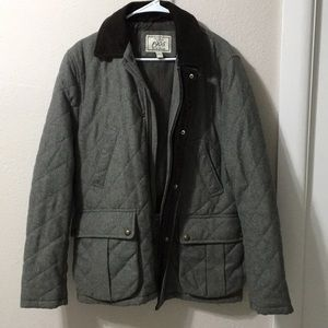 JOS A Bank Hunters Jacket with Corduroy Collar